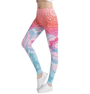98951e6b0197b Wholesale printed sweatpants yoga leggings